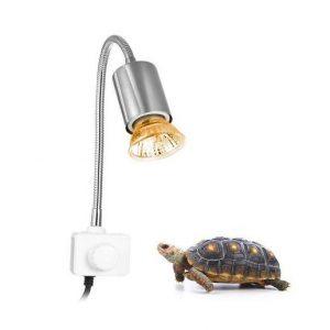 lámpara térmica para tortugas