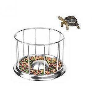 dispensador de comida para tortugas