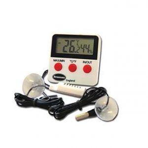 termómetro-higrómetro digital